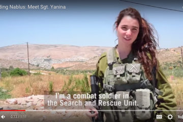 Meet IDF Sgt. Yanina and Listen To Her Amazing Story