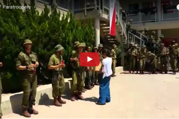 We Heard Over 700 IDF Paratroopers Finished Training, So… This Is What We Did