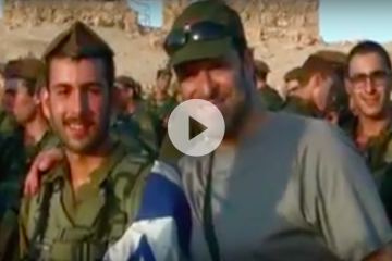This Is Why Standing Together Is Working 24/7 To Say Thank You To IDF Soldiers