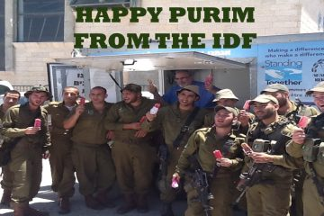 The Connection Between The IDF, Purim & You
