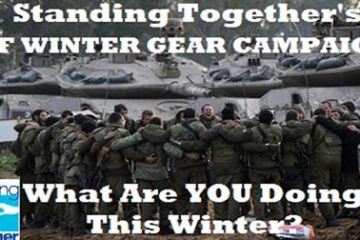 Warm Winter Gear for IDF Soldiers