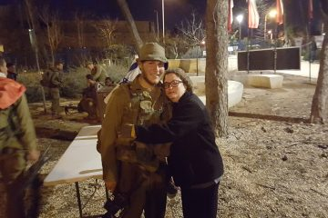 A Lone Soldier Reunited With His Mom At The Perfect Time In The Perfect Place
