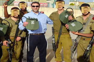 Sponsor Operational Water Packs For IDF Soldiers